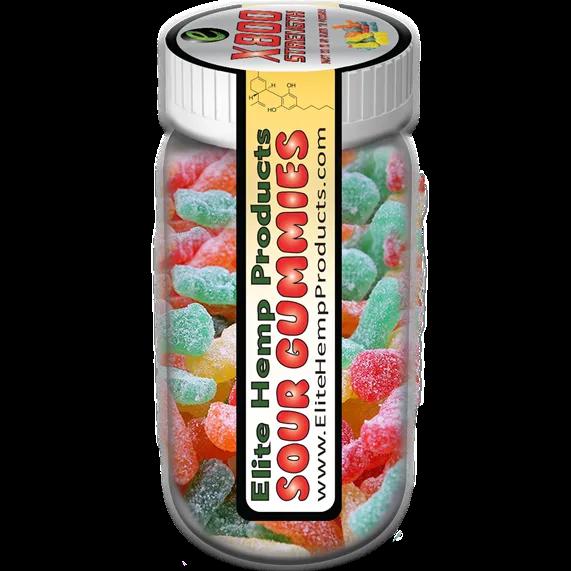 CBD Sour Gummy x800 Strength