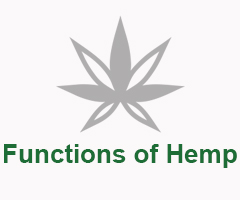 Functions of Hemp