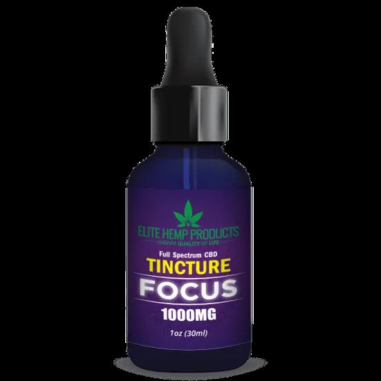 CBD Focus Tincture 1000mg