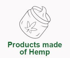 Products made of Hemp